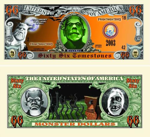 Sixty Six Dollar Halloween Monster