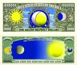Sun/Moon One Million Dollar Bill