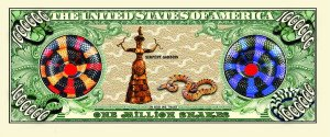 Snake One Million Dollar Bill