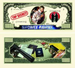 Spy One Million Dollar Bill