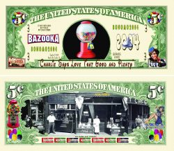 Candy Store Nickel Bill