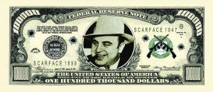 Al Capone $100000.00 Bill