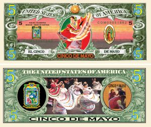CINCO DE MAYO MILLION DOLLAR BILL