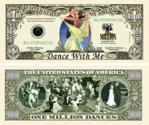 Ballroom Dancing Million Dollar Bill