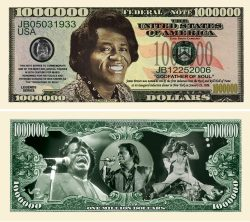 JAMES BROWN MILLION DOLLAR BILL