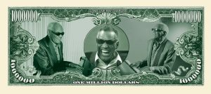 RAY CHARLES MILLION DOLLAR BILL