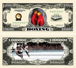 Boxing Million Dollar Bill