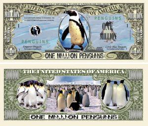 PENGUINS MILLION DOLLAR BILL