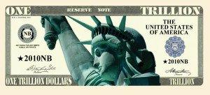 Trillion Dollar Novelty Bill