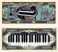 Keyboards Million Dollar Bill