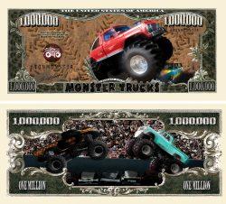 MONSTER TRUCK MILLION DOLLAR BILL