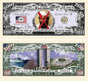 9-11 JUSTICE OSAMA BIN LADEN VICTORY BILL