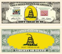DON'T TREAD ON ME - TEA PARTY BILL