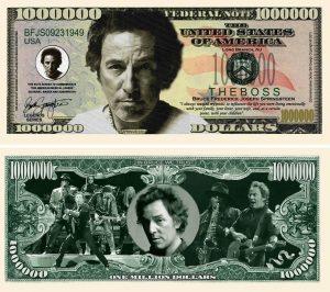 Bruce Springsteen Million Dollar Bill