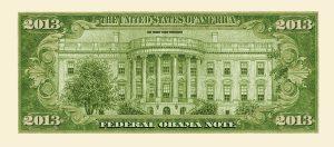 Barack Obama 2013 Commemorative Dollar Bill