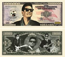 Roy Orbison Million Dollar Bill
