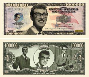 Buddy Holly Million Dollar Bill