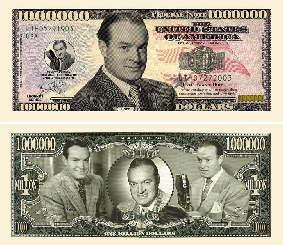 Bob Hope Million Dollar Bill