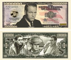 Paul Newman Million Dollar Bill
