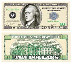 10.00 Bill