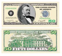 50.00 Bill