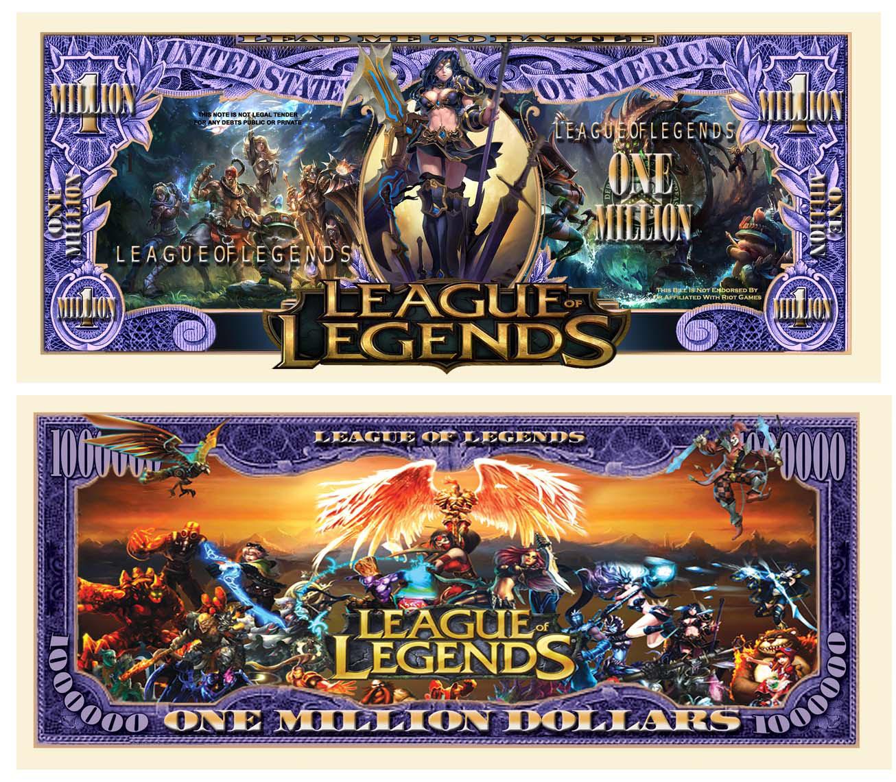 League Of Legends Bill