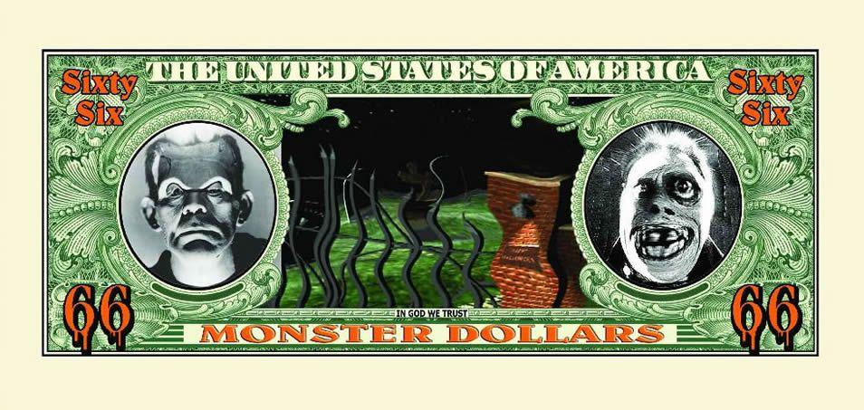 halloween fake money